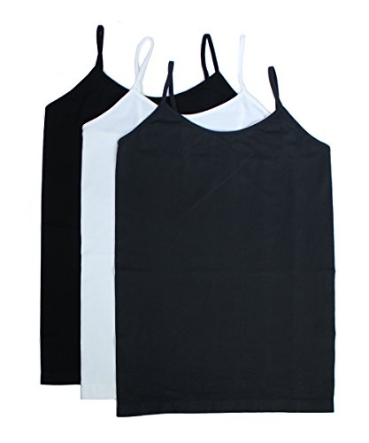 3 Pack Women's Plus Size Seamless Basic Camisole Tank Top – XL-3XL Spandex Cami