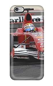 Tpu Case Cover For Iphone 6 Plus Strong Protect Case - Ferrari F1 Wallpaper Design