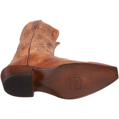 1883 Par Lucchese Womens N4540.54 Botte Tan Bruni