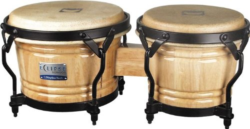 Rhythm Tech RT 5600 Eclipse Bongos-Natural ()