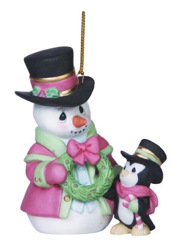 Penguin Snowman (Precious Moments Company Annual Snowman with Penguin Ornament)