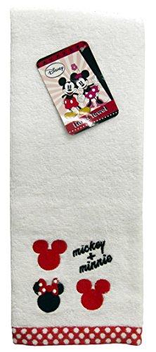 "Disney Mickey Mouse/Minnie Mouse 11"" X  16.5 100% Cotton ..."
