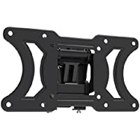 Pyle PSWLB62 10-Inch to 32-Inch Universal Flat Panel Tilt and Turn Wall Mount for LCD, LED, Plasma, SMART, 3D TVs