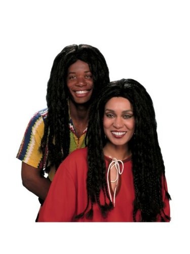 Rubie's Costume's Men's Dreadlock Rasta Wig One Size, Black