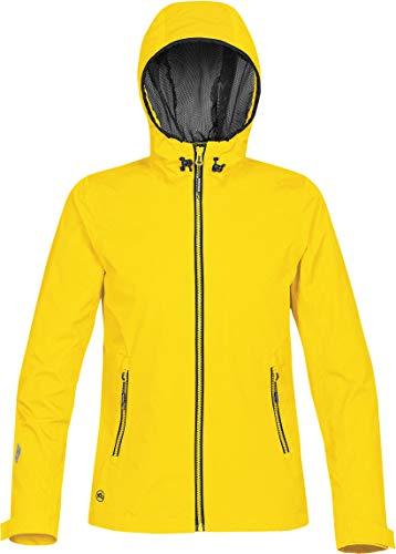 Ladies Blaze Mesh Jacket - Stormtech Women's Typhoon Rain Shell -TRX-1W, Blaze Yellow, XX-Large
