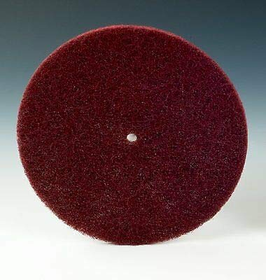 100 -PK 3M 00675 Scotch-Brite Light Deburring Disc 6 Inch X 1/2 Inch A Vfn // 7010294767