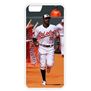 MLB iPhone 6 White Baltimore Orioles cell phone cases&Gift Holiday&Christmas Gifts NBGH6C9125393