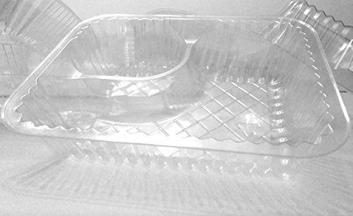 Distinct Possibilities Nacho Tray 5x6 inch - 20 Ounce, 2 Compartment - 25 ct - Pack of 2 by Distinct Possibilities