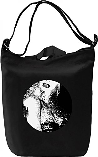 Woman Borsa Giornaliera Canvas Canvas Day Bag| 100% Premium Cotton Canvas| DTG Printing|