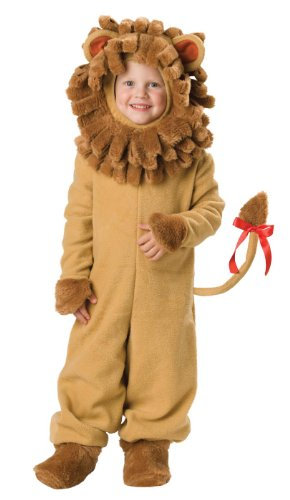 [InCharacter Costumes Baby's Lil' Lion Costume, Tan, Medium] (Kids Purim Costumes)