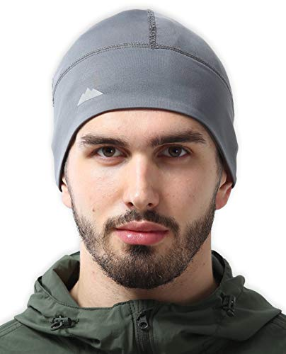Skull Cap/Helmet Liner/Thermal Running Beanie Hat - Fits Under Helmets ()