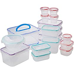 Snapware Airtight Food Storage Set, Plastic, 38-Piece