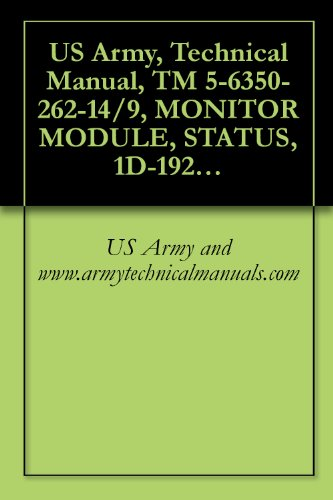 (US Army, Technical Manual, TM 5-6350-262-14/9, MONITOR MODULE, STATUS, 1D-1921 ( ) FSS-9(V), (NSN 6350-00-228-2661), {NAVELEX 0967-466-9090; TO 31S9-4-32-1})