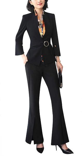 Amazon.com: Juego de ropa de trabajo para mujer, conjunto de ...