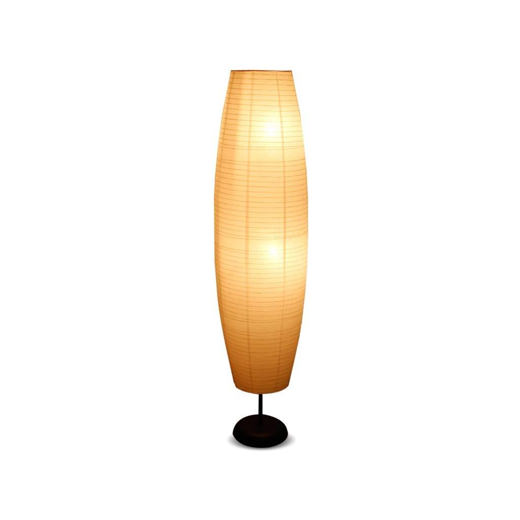 CRR Stehleuchte LED Schlafzimmer Studie Wohnzimmer Grünikale Lampe Augenschutz Energiesparlampe Papier Fußschalter