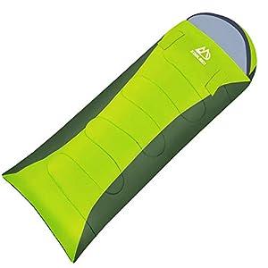 寝袋 封筒型 防水シュラフ KOOLSEN 春 夏 秋 冬 オールシーズン 丸洗い可能