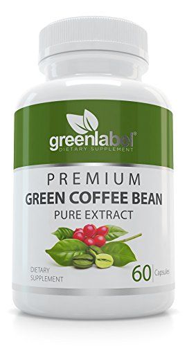Green Coffee Bean Extract For Mass Loss Pills and Cravings, Natural Caffeine Pills And Appetite Suppressant For Weight Loss, Metabolism Booster And Blood Sugar Carry.
