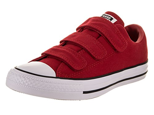 Converse Dames Chuck Taylor All Star 3v Ox Casual Schoen Email / Rood / Email / Rood / Wit