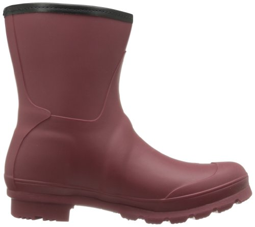 Kamik Womens Jenny Ankle Rain Boot Burgundy