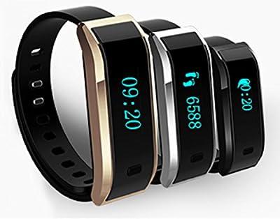 SUBA TW07 Smart Bracelet, Sports, Fitness, Bluetooth Smart Watch, Bluetooth Selfie Photo, Activity Tracker, Healthy Wristband, Pedometer, Sleep Monitor for IOS Android, Waterproof