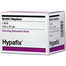"Smith and Nephew Inc Hypafix Non-woven Fabric Dressing Retention Tape 4"" x 2 yds, Adhesive, Highly Conformable (1 Roll)"