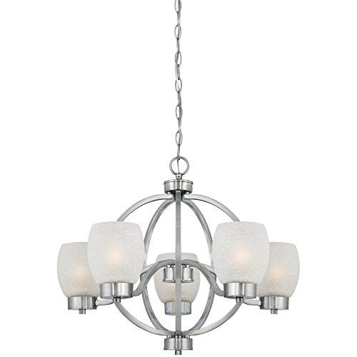 Kira Home Weston: Westinghouse 6341200 Karah Five-Light Indoor Chandelier