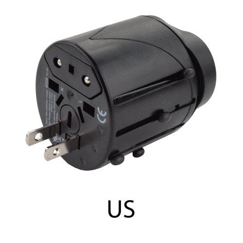 Compact Universal All-In-One International Travel Power Adapter Plug. Over 150 countries including UK: Maldives Malta Nigeria Saudi Arabia