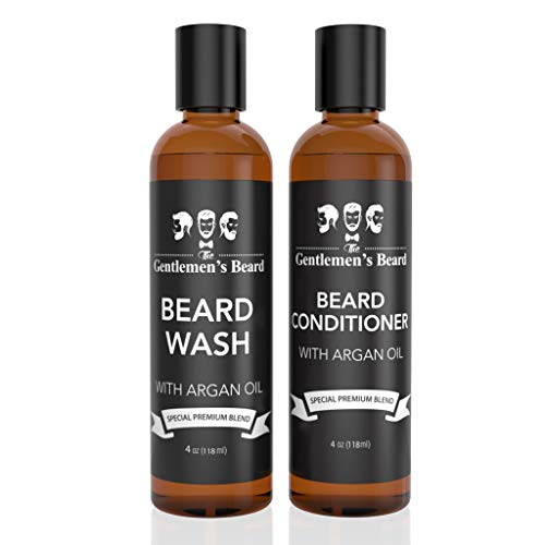 Beard Shampoo Conditioner Softener Argan product image