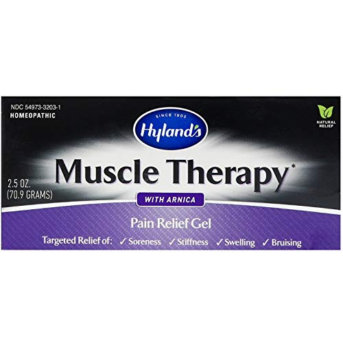 Hylands, Muscle Therapy Gel with Arnica, 3 Ounce