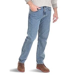 Wrangler Authentics Men's Comfort Flex Waist Relaxed Fit Jean