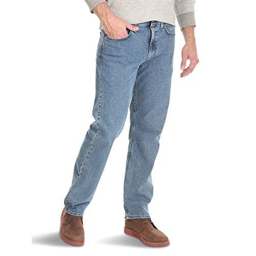 Wrangler Authentics Men's Relaxed Fit Comfort Flex Waist...