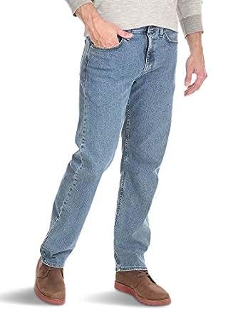 Wrangler Mens Comfort Flex Waist Relaxed Fit Jean Jeans - Blue - 29W x 30L