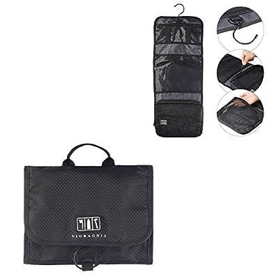 189ec98d23 good VIGBAGNIA Travel Toiletry Bag Travel Gym Grooming Shaving Bag Personal Shave  Dopp Kit Travel Bottles