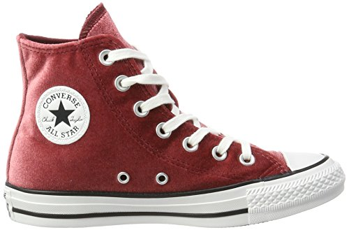 Hautes Block Hi Mixte CTAS White Rot Red Adulte Red Baskets Block Converse CwatgqxYw