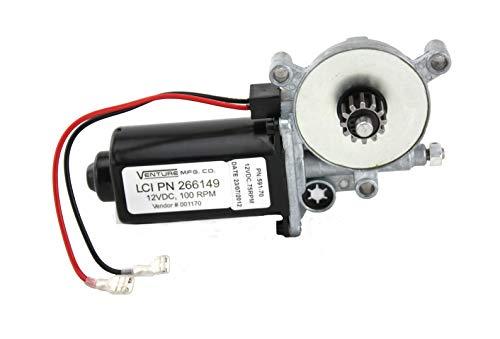 (Lippert Components Black Lippert 266149 Solera Power Awning Replacement Motor)