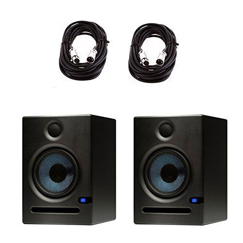 PreSonus Eris E5 5.25-inch 2-Way Nearfield Studio Monitor (Pair) w/ Cables