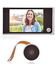 """3.5"""" LCD HD Screen Peephole Viewer Digital Door Eye Viewer Camera 720P Image Resolution 120 Degree Wide Angle Home Security System"""