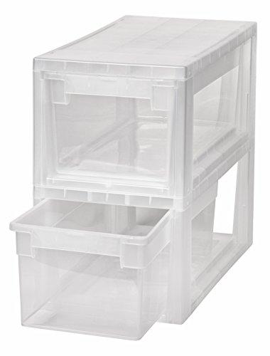 Krawatten M .Passend f/ür z.B Kreher Schubladenbox mit 12 Liter Nutzvolumen in Gr/ö/ße Medium Kombinierbar mit Anderen Boxen zu Einem Boxensystem Socken SUPER u.v.m