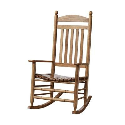 Bradley Maple Slat Patio Rocking Chair by Bradley