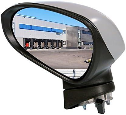 1x Außenspiegel Aussenspiegel Spiegel Links Anschlußanzahl 5 Beheizbar Für Elektr Spiegelverstellung Konvex Grundiert Auto