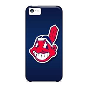 GMcases Case Cover For Iphone 5c - Retailer Packaging Cleveland Indians Protective Case