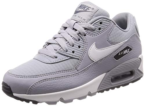 huge selection of 87d14 7f2af Nike Women s Air Max 90 Wolf Grey Summit White 325213-062 (Size