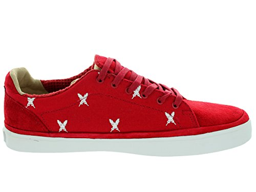 Sneaker Feathers Red Vans White Red Lasdun 51wnzqT