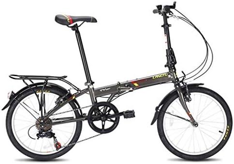 Paseo Bicicleta Plegable 20 Hombres Mujeres Pulgadas Y Ultra ...