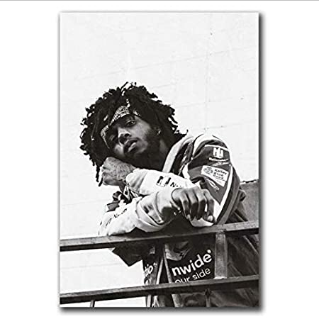 yhnjikl Carteles e Impresiones 6Lack Rap Hip Hop Música ...