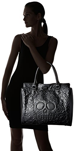 Handbag Loungefly Loungefly Lattice Skull Black On Black Black qvWBw5n06x