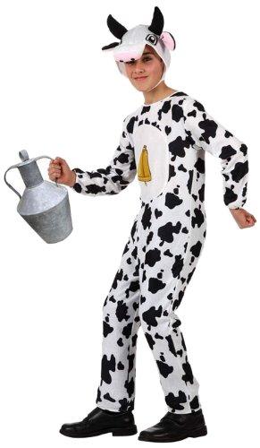Atosa-10816 Disfraz Vaca, color blanco, 3 a 4 años (10816): Amazon ...