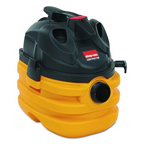Shop-Vac 5872810 Heavy-Duty Portable Wet/Dry Vacuum, 5gal Capacity, 17lb, Black/Yellow