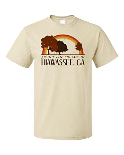 Living the Dream in Hiawassee, GA | Retro Unisex T-shirt