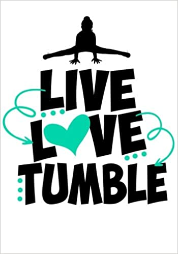 Live Love Tumble Cute Gymnastics Activity Book /& Gratitude Diary ~ Perfect Gift for Any Gymnast!